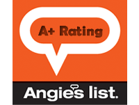 A+ Rating with Angie's List